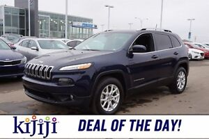 2016 Jeep Cherokee AWD NORTH EDITION Accident Free,  Bluetooth,
