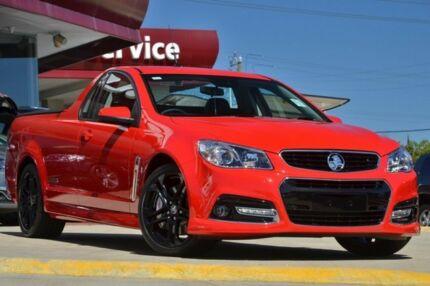 2014 Holden Ute VF MY15 SS V Ute Redline Red Hot 6 Speed Auto Seq Sportshift Utility Victoria Park Victoria Park Area Preview