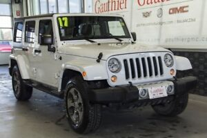 2017 Jeep Wrangler Unlimited Sahara, Nav, Bluetooth