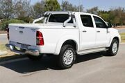 2014 Toyota Hilux KUN26R MY14 SR5 Double Cab Glacier White 5 Speed Manual Utility Clarkson Wanneroo Area Preview
