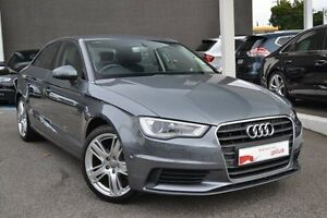 2016 Audi A3 8V MY16 Attraction S tronic Grey 7 Speed Sports Automatic Dual Clutch Sedan Burwood Whitehorse Area Preview