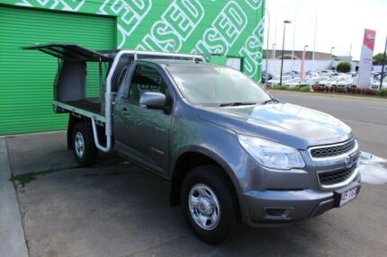 2013 Holden Colorado RG MY13 LX Grey 5 Speed Manual Cab Chassis
