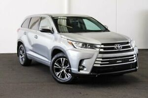 2017 Toyota Kluger GSU55R GX (4x4) Silver 6 Speed Automatic Wagon Myaree Melville Area Preview