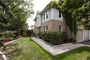 *Beautiful Corner Unit Like A Semi** Situated In A Desirable Are