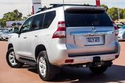 2014 Toyota Landcruiser Prado KDJ150R MY14 Altitude Silver Pearl 5 Speed Sports Automatic Wagon Wangara Wanneroo Area Preview