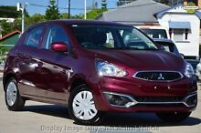 2016 Mitsubishi Mirage LA MY16 ES Black 1 Speed Constant Variable Hatchback Wilson Canning Area Preview
