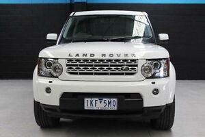 2013 Land Rover Discovery 4 Series 4 L319 TDV6 White Sports Automatic Wagon Knoxfield Knox Area Preview