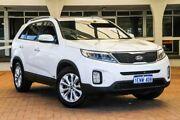 2014 Kia Sorento XM MY14 SLi 4WD Snow White Pearl 6 Speed Sports Automatic Wagon Melville Melville Area Preview