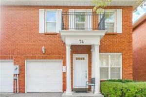 Beautiful And Well Maintained End Unit Condo Townhome