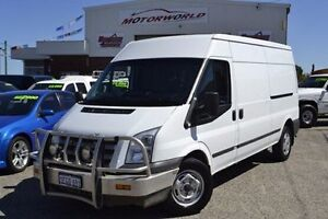 2013 Ford Transit VM MY13 350 Mid Roof LWB White 6 Speed Manual Van Pearsall Wanneroo Area Preview