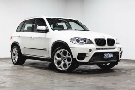 2013 BMW X5 E70 MY1112 xDrive30d Steptronic White 8 Speed Sports Automatic Wagon Welshpool Canning Area Preview