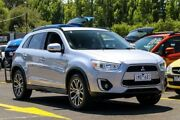 2015 Mitsubishi ASX XB MY15.5 LS 2WD Silver 6 Speed Constant Variable Wagon Ringwood East Maroondah Area Preview