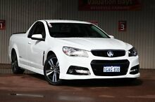 2015 Holden Ute VF MY15 SV6 Ute Storm White 6 Speed Sports Automatic Utility Northbridge Perth City Preview