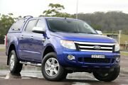 2014 Ford Ranger PX XLT Double Cab Blue 6 Speed Sports Automatic Utility West Gosford Gosford Area Preview