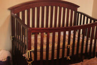 3-in-1 Crib With Mattress For Only $75.