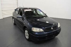2002 Holden Astra TS CD Blue 4 Speed Automatic Hatchback Moorabbin Kingston Area Preview