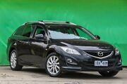 2010 Mazda 6 GH1052 MY10 Classic Black 5 Speed Sports Automatic Wagon Ringwood East Maroondah Area Preview