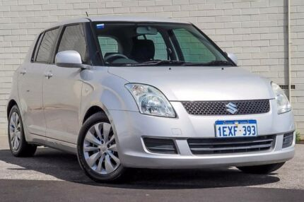 2009 Suzuki Swift EZ MY07 Update RE.4 Silver 4 Speed Automatic Hatchback