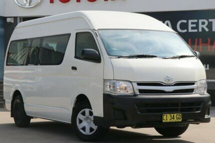 2013 Toyota Hiace TRH223R MY12 Upgrade Commuter White 4 Speed Automatic Bus