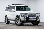 2013 Mitsubishi Pajero NW MY13 VR-X White 5 Speed Sports Automatic Wagon Welshpool Canning Area Preview
