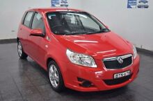 2009 Holden Barina TK Red Manual Hatchback Blair Athol Campbelltown Area Preview