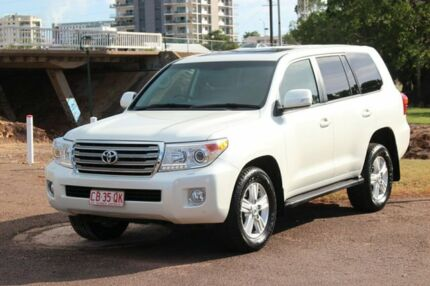 2014 Toyota Landcruiser VDJ200R MY13 VX Crystal Pearl 6 Speed Sports Automatic Wagon The Gardens Darwin City Preview