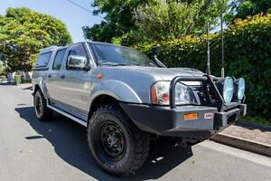 2004 Nissan Navara D22 MY2003 ST-R Silver 5 Speed Manual Utility Hove Holdfast Bay Preview