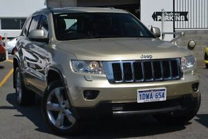 2012 Jeep Grand Cherokee WK MY2012 Limited Gold 5 Speed Sports Automatic Wagon Claremont Nedlands Area Preview