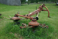 KUHN Hay Tedder - One Side Working - Spreads Hay Rows to Dry