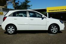 2009 Kia Rio JB MY09 LX White 4 Speed Automatic Hatchback Chermside Brisbane North East Preview
