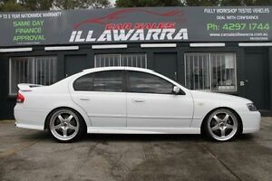 2006 Ford Falcon BF Mk II XR6 Turbo White Auto Sports Mode Sedan Barrack Heights Shellharbour Area Preview