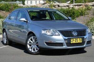 2006 Volkswagen Passat 3C 3.2 V6 FSI Blue 6 Speed Direct Shift Sedan Lisarow Gosford Area Preview
