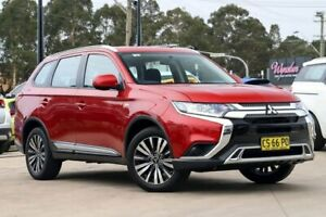 2018 Mitsubishi Outlander ZL MY18.5 ES 2WD Red 6 Speed Constant Variable Wagon