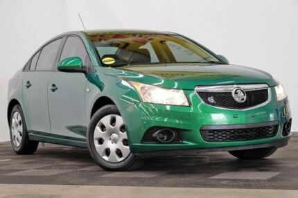 2011 Holden Cruze JG CD Green 5 Speed Manual Sedan Seven Hills Blacktown Area Preview