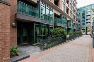 QUEEN WEST RENTAL:Two Level Condo Townhouse In Central Toronto N