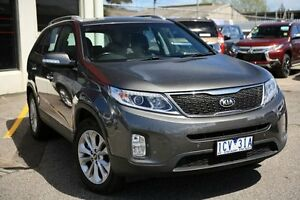 2014 Kia Sorento XM MY14 SLi 4WD Glittering Metal 6 Speed Sports Automatic Wagon Frankston Frankston Area Preview