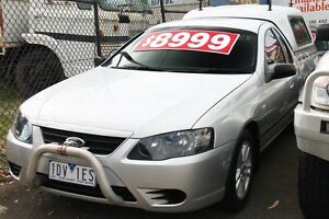 2008 Ford Falcon BF MkII XLS (LPG) Silver 4 Speed Auto Seq Sportshift Utility Briar Hill Banyule Area Preview