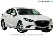 2018 Mazda 3 BN MY18 SP25 (5YR) Snowflake White Pearl 6 Speed Automatic Hatchback Gymea Sutherland Area Preview