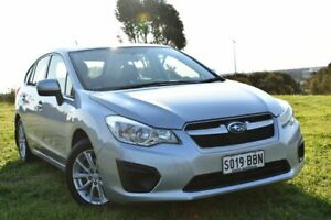 2014 Subaru Impreza G4 MY14 2.0i Lineartronic AWD Silver 6 Speed Constant Variable Sedan St Marys Mitcham Area Preview