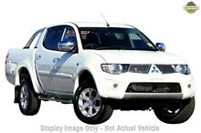 2015 Mitsubishi Triton MN MY15 GLX-R Double Cab Brown 5 Speed Sports Automatic Utility Cannington Canning Area Preview