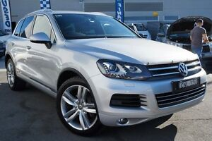 2012 Volkswagen Touareg 7P MY12.5 V6 TDI Tiptronic 4MOTION Silver 8 Speed Sports Automatic Wagon Pearce Woden Valley Preview