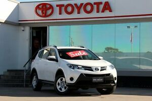 2015 Toyota RAV4 ASA44R MY14 Upgrade GX (4x4) White 6 Speed Automatic Wagon Old Guildford Fairfield Area Preview