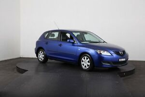 2006 Mazda 3 BK MY06 Upgrade Neo Blue 5 Speed Manual Hatchback McGraths Hill Hawkesbury Area Preview