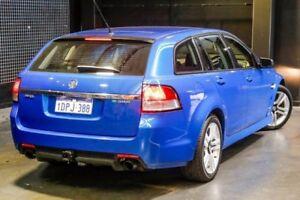 2009 Holden Commodore VE MY10 SV6 Sportwagon Blue 6 Speed Sports Automatic Wagon
