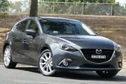 2015 Mazda 3 BM5438 SP25 SKYACTIV-Drive Grey 6 Speed Sports Automatic Hatchback West Gosford Gosford Area Preview