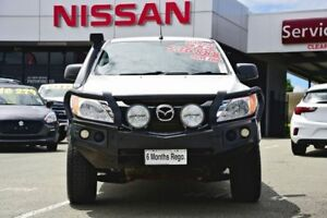 2016 Mazda BT-50 UR0YF1 XT Freestyle White 6 Speed Manual Cab Chassis