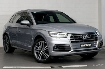 2018 Audi Q5 FY MY18 TDI Tiptronic quattro Sport Silver 8 Speed Sports Automatic Wagon Zetland Inner Sydney Preview