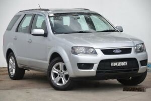 2009 Ford Territory SY Mkii TS Silver 4 Speed Sports Automatic Wagon Blacktown Blacktown Area Preview
