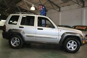 2006 Jeep Cherokee KJ MY05 Upgrade Sport (4x4) Silver 4 Speed Automatic Wagon Victoria Park Victoria Park Area Preview