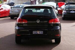 2010 Volkswagen Golf VI MY10 90TSI Trendline Black 6 Speed Manual Hatchback Northbridge Perth City Area Preview